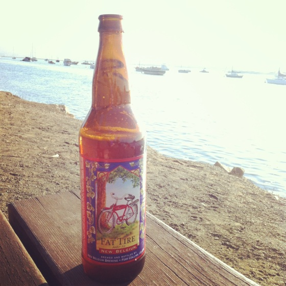 cycling beer