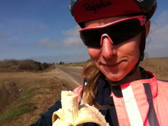 banana food for cycling